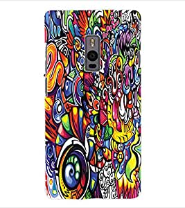 ColourCraft Graffiti Back Case Cover for ONEPLUS TWO