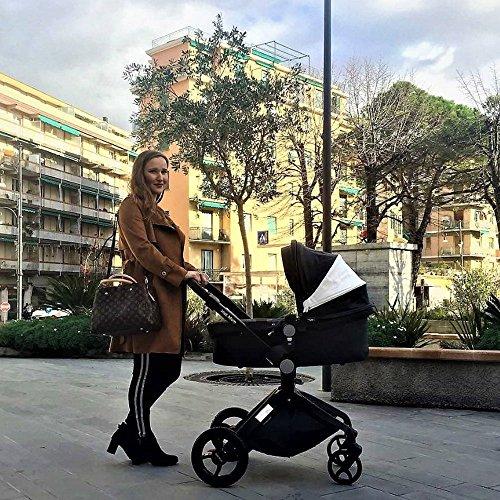 Hot Mom passeggino per bambini Nero,2018