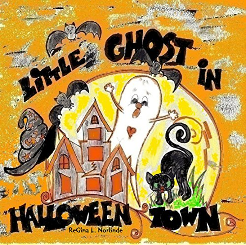 Children's Book:: Little Ghost in Halloween Town (Adventures of Little Boo Book 5) (English Edition) (Ghost Halloween Town)