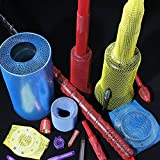Netzschutzschlauch, Oberflächenschutznetz ProtectaSleeve Light, Ø 20-45mm, 50m pink, zum Schutz...