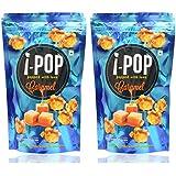 i - POP Caramel Popcorn (Pack of 2, 160 grams)