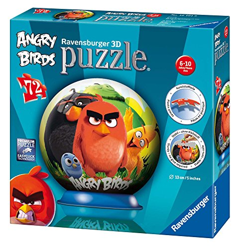 Angry Birds - Puzzle 3B Ball (Ravensburger 12196)