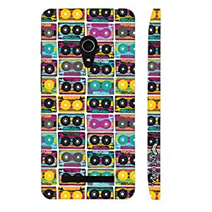 Asus Zenfone 6 The Old Way of Music - colourful designer mobile hard shell case by Enthopia