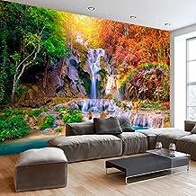 murando - Fotomural 350x245 cm ! Papel tejido-no tejido. Fotomurales - Papel pintado Naturaleza Paisaje Cascada arbol c-B-0126-a-a