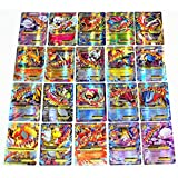 NEW Pokemon tcg EX de 60PCS. Large Mega EX Card Strongest Combination Best Gift