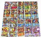 Pokemon TCG EX - 60pcs Large Mega Ex Card Strongest Combination Best Gift