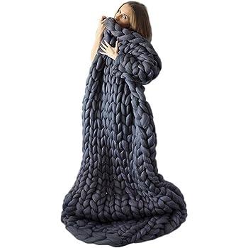 Tapis de lit épais en tricot - Fait à la main - Pour animal ... d57aec774b0