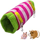 TAIYO PLUSS DISCOVERY® Tunnel Hammock/Size:(24cm,diameter-38 cm)/Hammock Bed Tunnel Shape Nest for Sugar Glider, Ferret, Hams