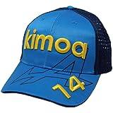 KIMOA Unisex_Adult Gorra FA Alpine Cap Spanish Gp 21 Formula 1, Blue, L