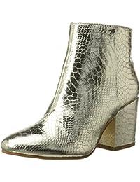Buffalo Damen 416-6358 Metallic Snake PU Stiefel