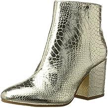 Buffalo Shoes 416-6358 Metallic Snake Pu, Botas para Mujer