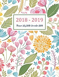 Planner July 2018-December 2019: Two Year - Daily Weekly Monthly Calendar Planner | 18 Months July 2018 to December 2019 For Academic Agenda ... Planners (Academic Planner 2018-2019, Band 4)