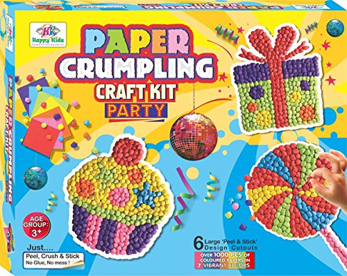 Happy Kidz 7894569 Art Craft Toys Paper Crumpling Best Price In