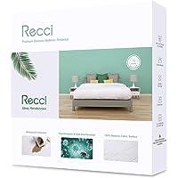 RECCI Protège Matelas 70x140 cm - 100% Fibre de Bambou, Ultra Doux, Hautement Respirant, Hypoallergénique, Silencieux…