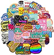 Inspirational Words Stickers for Water Bottle, Waterproof Vinyl Decal for Teen Girl Laptop, Skateboard, Kids B