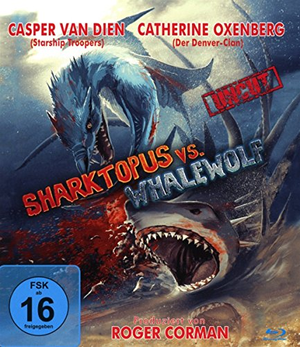 Sharktopus vs Whalewolf - uncut Edition [Blu-ray]