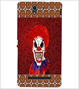 Printdhaba Scary Joker D-4067 Back Case Cover For Sony Xperia C3