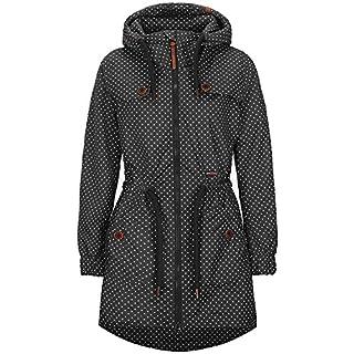alife & kickin Charlotte A Coat Damen Übergangsjacke, Steal dots, L