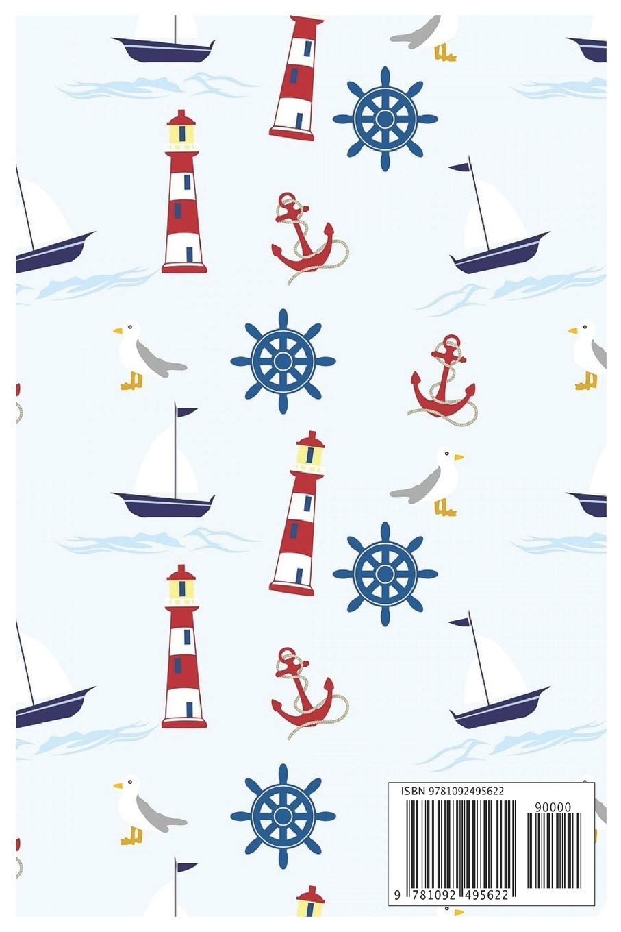 Practise Journal: Nautical Notebook/Workbook to Voyage Writing for Boating/Sailing, Blank Medium Lined Composition/Log…