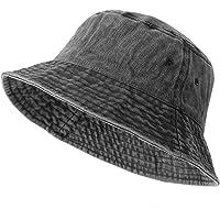 Bucket Hat Foldable Cotton Sun Beach Hat Fisherman Hat Casual Outdoor Cap Lovely Bomber Hats for Women Men Boy Girl