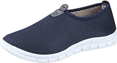 Oyedens_Scarpe da uomo Scarpe da Ginnastica Leggero Ultralight Lazyer Sport Uomo Traspirante Sneakers Mesh Traspirante Casuale Slip-On Sport Shoes Comfortable Footwears Shoes Saldi Estate 2019
