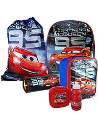 Disney Pixar® Cars 3 Back To School Sets including Backpack, Messenger, Trainer Bag, Lunch Sets, Sports Bottle & Pencil Case