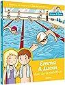 emma et lucas - la natation par Masteau