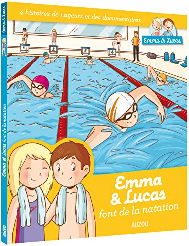 Emma & Lucas font de la natation