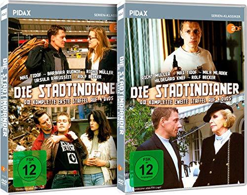 Die Stadtindianer - Gesamtedition / Die komplette Krimiserie auf 8 DVDs (Pidax Serien-Klassiker)