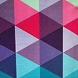 Erstklassiger Polyester Oxford 250D 1lfm - Wasserabweisend, Winddicht, Outdoor Stoff, Gartenmöbel Stoff - Muster 07