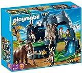 PLAYMOBIL 5100–Grotte préhistorique AVEC Mammouth