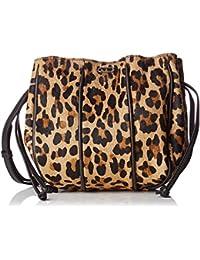 IKKS femme Purse Leopard Sac porte epaule Multicolore (Leopard)