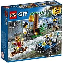 LEGO City - L'évasion des bandits en montagne - 60171 - Jeu de Construction