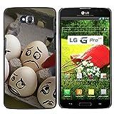 OB-star ( huevos Humor ) LG G Pro Lite / D680 D682TR Impreso Colorido Protector Duro Espalda Funda...