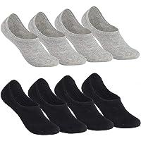 Falechay Womens No Show Socks Mens Invisible Liner Socks 8 Pairs
