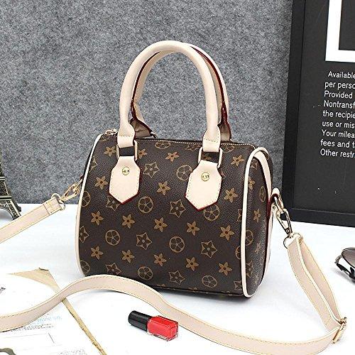 Aoligei Gezeiten Sie Messenger Bag europäischer und Amerikanischer Frauen Tasche Drucken Kissen Tasche Kleine Handtasche Tasche Classic Umhängetasche -
