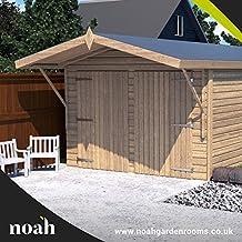 Noah Garden Rooms Oxford - Garaje, caseta, taller para el jardín de madera muy