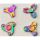 Britishtrader Any 2 Metal Fidget Finger Spinner Hand Focus Ultimate Spin Steel EDC Bearing Stress Toys UK