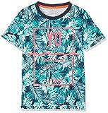 NAME IT Jungen T-Shirt Nitzilli SS Top Box NMT, Mehrfarbig (Fanfare), 134 (Herstellergröße: 134-140)