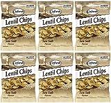 (6 PACK) - Cofresh - Eat Real Lentil Chips Sea Salt | 113g | 6 PACK BUNDLE