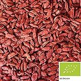 1kg Bio Goji Beeren getrocknet, ungezuckerte Bio Gojibeeren als Snack oder als Zugabe für ein...