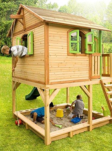 Spielhaus Kinderspielhaus BV-VERTRIEB Gartenhaus Spielhütte für Kinder – (3376)