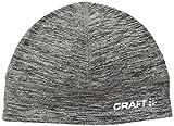 CRAFT Thermal Ski de Fond Chaud Léger Bonnet Mixte Adulte, Anthracite Chiné, FR : M (Taille Fabricant : 56 SM)