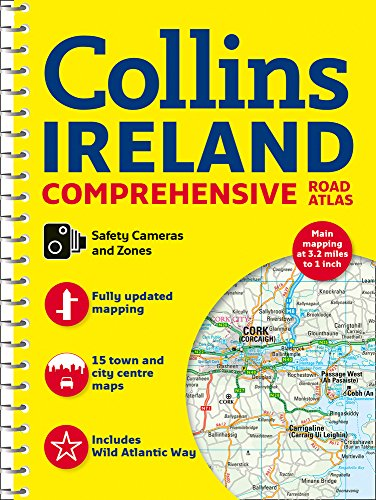 Comprehensive Road Atlas Ireland par Collins Maps