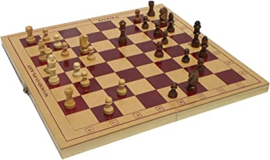 Wood O Plast Chess Box Set, Multi Color (12-inch)