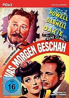 Was morgen geschah (It Happened Tomorrow) / Starbesetzter und mit zwei Oscars nominierter Film von René Clair (Pidax Film-Klass