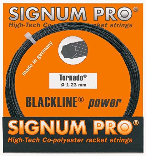 Signum Tennissaite Pro Tornado 12m, schwarz, 1,23, KR1007581,23
