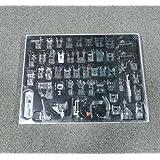 icase4u® Kit de 52 Piezas Multifuncional Prensatelas Accesorios para Máquina de Coser Presser Foot Feet Kit Machines Set (Kit de 52 Piezas)