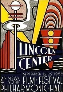 Lincoln Center New York 1966...Superb Large Art Deco Poster