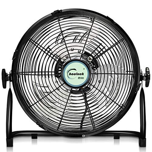ZRY Ventilador eléctrico Industrial de 4 velocidades/Ventilador del Gimnasio/Ventilador Potente del Piso/Ventilador...